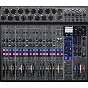 Mesa De Som Mixer E Gravador Livetrak Zoom L20