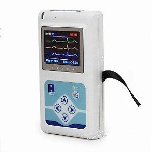 Holter Contec Tlc9803 24h Cardíaco Ecg 3 Canais Software Português Telemedicina