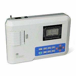 Contec ECG100G Eletrocardiógrafo Máquina Ecg Da Ligação
