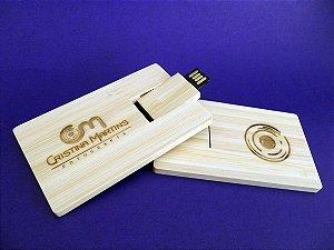 Pendrive Wood Card - Pendrive para Fotógrafos