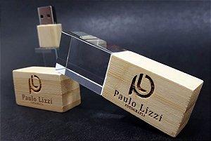 Pendrive Wood Glass - Pendrives para fotógrafos
