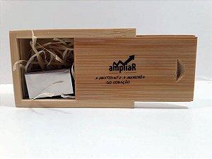 Kit Pendrive Wood Special Personalizado