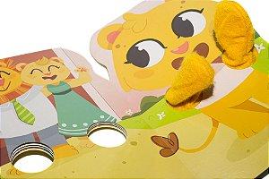 Livro Dedoche - A Rotina Matinal do Leão