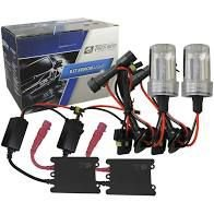 Kit Lâmpada Automotiva Xenon Tiger Auto H4 8000k
