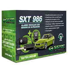 Alarme Para Carros Automotivo Sistec sxt 986 + Chave Canivete