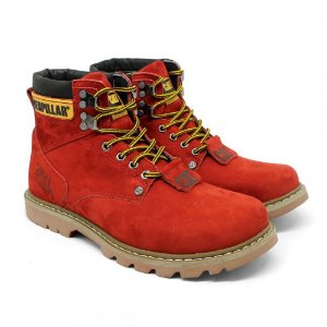 Bota Caterpillar Second Shift Vermelho