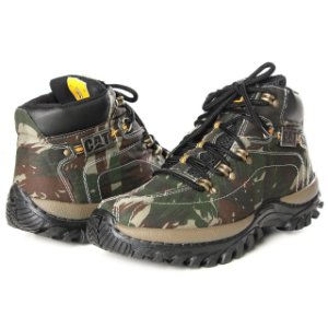 Kit Bota Caterpillar Adventure Camuflada