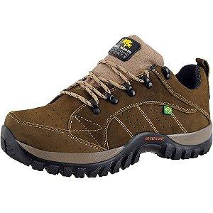 Tênis Adventure de Couro Nobuck Bell Boots  - Oliva