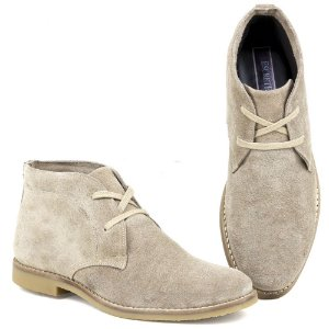 Botina Chelsea Boots Desert -  Areia