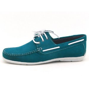 Mocassim dockside masculino Atron Shoes - azul