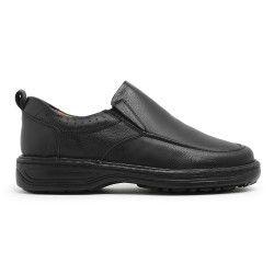 Sapato Masculino em Couro Legítimo Café - Ref. 8001 - Zarb