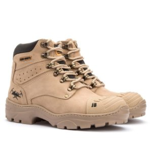 Bota Adventure Jhon Boots - Marfim - Ref 1600