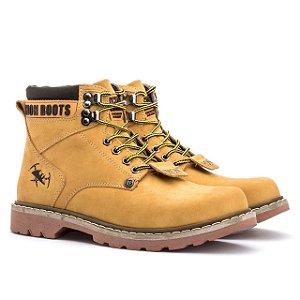 Bota Adventure Jhon Boots Casual - Milho - Ref. 850