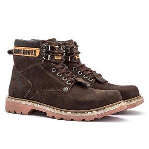 Bota Adventure Jhon Boots Casual - Café - Ref. 850