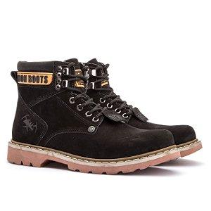 Bota Adventure Jhon Boots Casual - Preto - Ref. 850