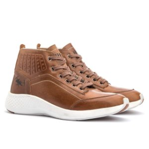 Tênis Jhon Boots Yeezy Sneakers Casual- Cevada