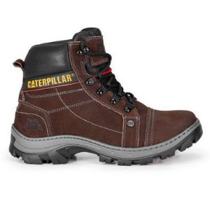 Bota Caterpillar lightning marrom