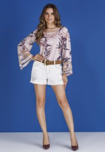 BLUSA WINTER COM TULE