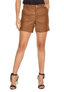 SHORTS COURO SOFT