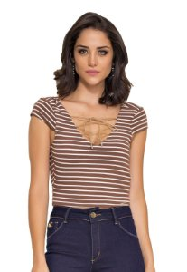 Cropped Glomy Stripe