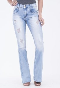 Calça Boot Cut Marabá Denim