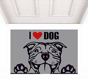 I LOVE DOG 0,60 X 0,40
