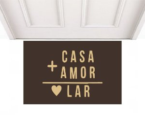CASA + AMOR 0,60 X 0,40
