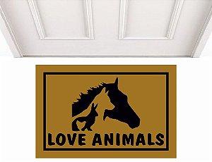 LOVE ANIMALS 0,60 x 0,40