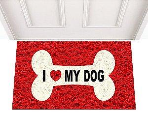 I LOVE MY DOG 0,60 x 0,40