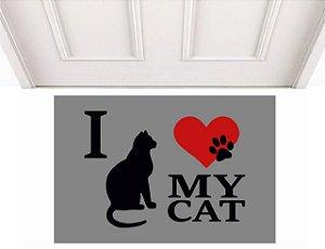 I LOVE MY CAT 0,60 x 0,40