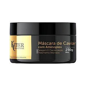 Máscara Caviar & Aminoplex | Tratamento de Apliques e Mega Hair