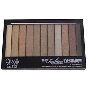 Paleta de Sombra City Girls  The Fashion Eyeshadow