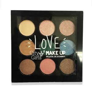 Paleta de sombra City Girls Love Make Up
