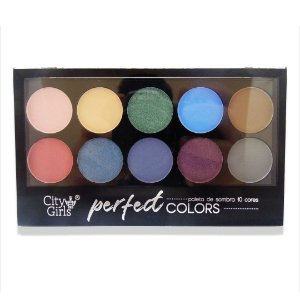 Paleta de sombra City Girls Perfect Colors