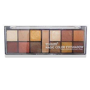 Paleta de sombra Sp Colors Magic Color Eyeshadow