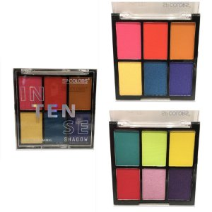 Paleta de Sombra Sp Colors Intense Shadow - 2 unidades