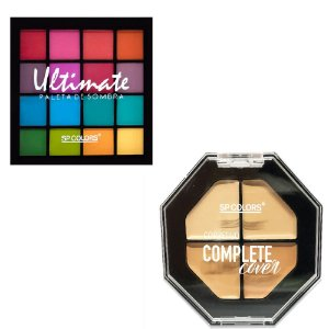 Paleta de Sombra Ultimate + Corretivo Complete Cover Sp Colors