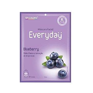 Máscara Facial SP Colors Everyday - Blueberry