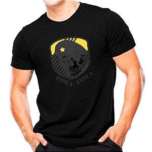 Camiseta Militar Estampada Força Tática