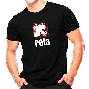 Camiseta Militar Estampada Rota