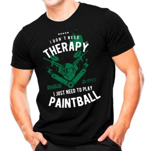 Camiseta Militar Estampada Play Paintball