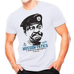 Camiseta Militar Estampada Mussum Tatics
