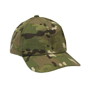Boné Militar Rip Stop Liso Camuflado Multicam
