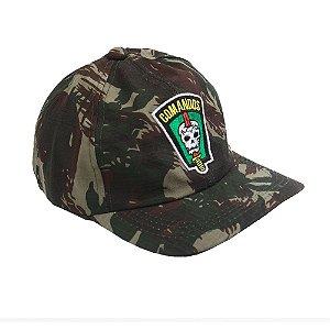 Boné Militar Rip Stop Bordado Comandos