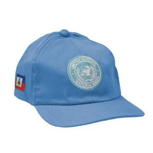Boné Militar Bordado Missão de Paz no Haiti