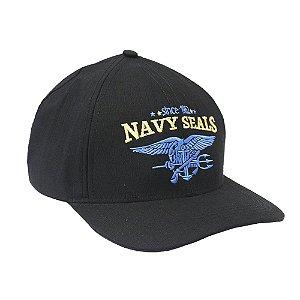 Boné Militar Rip Stop Bordado Navy Seals