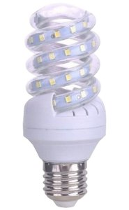 Lâmpada LED Espiral 12w