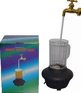 Fonte De Água Caneca Torneira Magica Bebidas com Luz