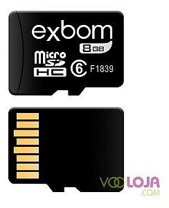 Cartão De Memória 8gb Micro Sd