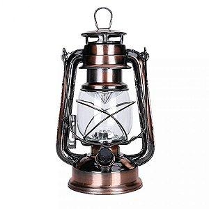Luminária Retrô - Lampião com Led